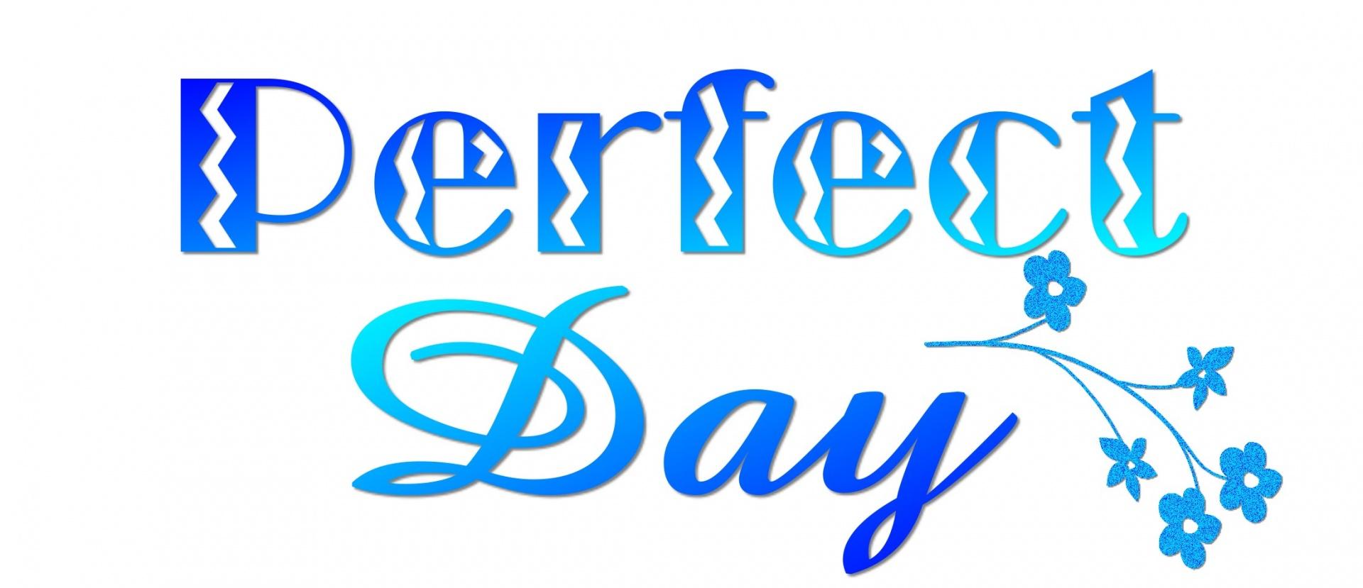 Describe Your Idea of a Perfect Day.